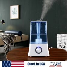 4.5L Large Cool Mist Air Purifier Aroma Diffuser Ultrasonic Humidifier Home Room