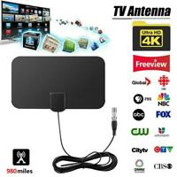 980 Miles Range Antenna TV Digital HD 4K Antena Digital HDTV 1080p Indoor