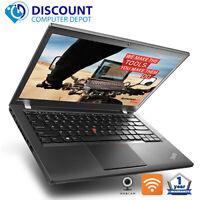 "Lenovo T440s 14"" HD Laptop Core i5 8GB 256GB SSD Webcam Windows 10 Pro Grade B"