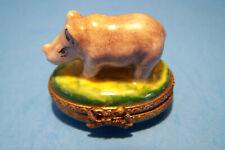 Rhino * Mini * authentic French Limoges Box ( New )
