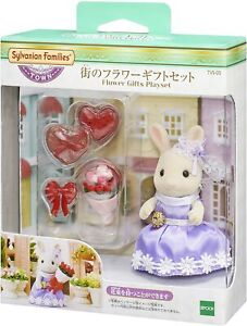 Sylvanian Families Calico Critters TVS-05 Flower Gifts Play Set Town Series