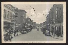 POSTCARD PEMBROKE CANADA PARIS GRILL & BUSINESS STORE FRONT 1930'S