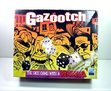 GAZOOTCH Dice Game With a  Vendetta Felt Board Casino-Style NY Factory 2006