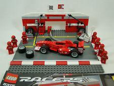 Lego Racers 8375 Ferrari F1 Pit Set komplett mit Anleitung OBA