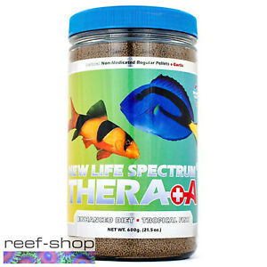 New Life Spectrum THERA +A Regular Pellet 600g Fish Food Fast Free USA Shipping