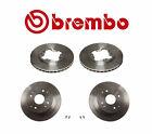4-Brembo Brake Rotors(2-Front & 2-Rear) for Acura CL & Honda Accord