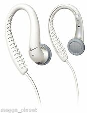 Philips White Nike Flow Sports Over Ear Cup Hook Headphones /Earphones SHJ026/00