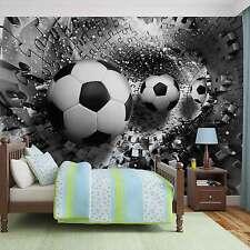 VLIES FOTOTAPETE Puzzel Fußball TAPETE MURAL Wandbilder (3382FW)