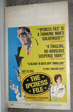 THE IPCRESS FILE original 1965 movie poster MICHAEL CAINE/SUE LLOYD