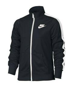 Nike Girls Sportswear Warm-Up Track Jacket : Black Large