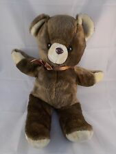 "Brown Bear Plush 18"" Korea"