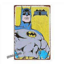 Tin Sign Batman Metal Plaque Comics Superhero Retro Vintage Home Bar Wall Decor