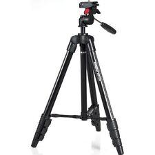 Rollei Compact Traveler Star S-1 Schwarz kompaktes Videostativ neigbar 39-125cm