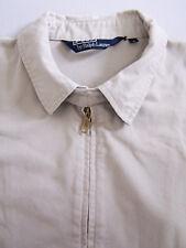 Polo Ralph Lauren Harrington Jacket Mens Large XL Extra Beige Loose Vtg RLP567 #