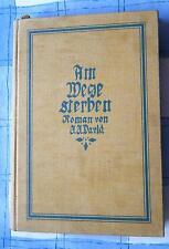 J. J. David Am Wege sterben Roman 2 Bücher in einem Band Geschichten 1912