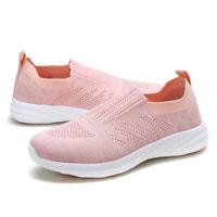DREAM PAIRS Womens Sport Running Shoes Lightweight  Mesh Walking Slip On Sneaker