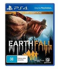 EarthFall Earth Fall Deluxe Edition Co-op Survival Game Sony Playstation 4 PS4