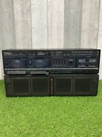 Vintage Proline PTX2000 Power Blaster Boombox 3 Band Stereo Dual Cassette