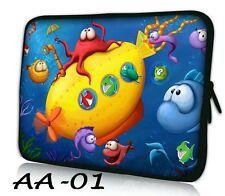 "7"" Tablet Sleeve Case Bag for Samsung Galaxy Tab 3 7.0, Garnet Red, Kids, Lite"