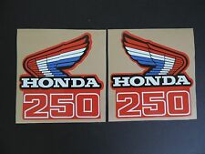 1986 HONDA CR 250 TANK/SHROUD DECAL SET VINTAGE MOTOCROSS AHRMA
