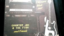 "COUNTRY JOE AND THE FISH-LIVE FILLMORE WEST 1969   2X 12"" VINYLS"