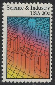 Scott 2031- Science and Industry- 20c MNH 1983- unused mint stamp