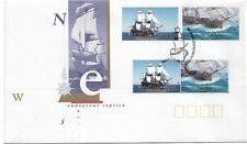 1995 Fdc Endeavour Replica 2 from Booklets & Sheet Pair Fdi Darling Harbour Syd