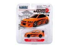 Jada 1:64 JDM Tuners Cars 2002 Mitsubishi Lancer Evolution 7 Orange