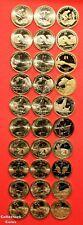 2009 - 2018 Sacagawea Native American 30 Coin PDS Uncirculated & Proof Set