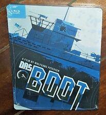 Das Boot (2014, Blu-ray, Steelbook) Free Shipping!