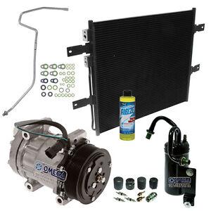 A/C AC Compressor Kit Fits: 2003 - 2005 Dodge Ram 2500 3500 L6 5.9L Diesel ONLY