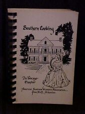 Southern Cooking, Du Bocage Chapter, ABWA Cookbook, Pine Bluff AR