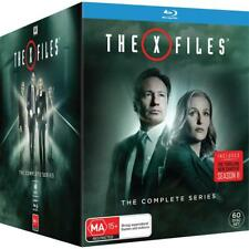 X Files: The Complete Series 1- 11 (Blu-ray Disc, 2018, 60-Disc Set)