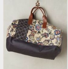 Anthropologie Miss Albright Hermintage Weekender Bag Floral