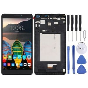 For Lenovo Yoga Tab 3 Plus Frame LCD Replacement Display Digitizer Touch BLACK