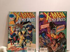X-MEN lost tales issues 1 & 2 (1997)
