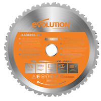 "Evolution RAGE Saw Multipurpose RAGE3 10"" Circular Saw Blades"