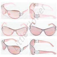 DG Sunglasses Womens Designer Shades Rhinestones Fashion Large Eyewear Retro9033