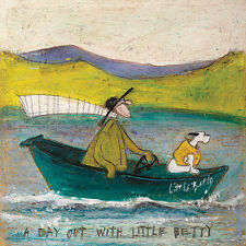 Sam Toft (A Day out with Little Betty) 40 x 40cm Canvas Print Wall Art WDC95840