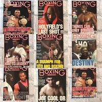 Boxing Monthly Magazines, 2001, Choose your month, Mint Condition