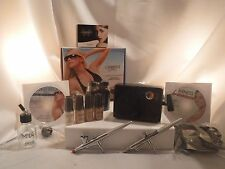 Luminess Air Airbrush System Tanning & Makeup No Drip Pink Tip Stylus Fair Combo