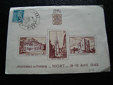 FRANCE - imprime 1er jour 19/4/194 (journee du timbre) (cy54) french