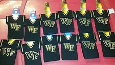 Lot of 12 Wake Forest Demon Deacon NCAA Jersey beer bottle Koozies FREE SHIPPING