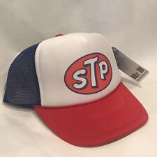 STP Gas Oil Trucker Hat Vintage Style Farmer Semi Truck Mesh Snapback Cap! 2200