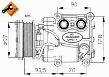 Compressore Ford Fusion Benzina Dal 2002 ->