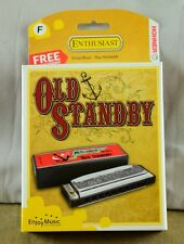 New Hohner Old Standby Hamonica in Key of F - Free Online Lessons