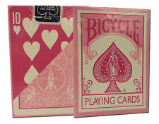 Bicycle Reverse Back Pastel Pink Deck Playing Cards Collectible Rare discontinue