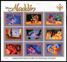 Guyana 2760, Disney Animation Film Haracters, Aladin 1993. x14445c