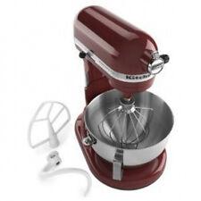 Kitchenaid Stand Mixer 450-W 5-Qt Large Pro Rkv25goxgc Gloss Cinnamon Dark Red