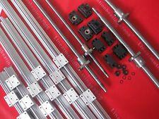 2 sets RM2005--1400 mm Anti-ballscrew/&RM2005 Ballnut /&BF15//BK15/&Coupings